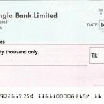 Sample Bangladeshi Bank Cheque