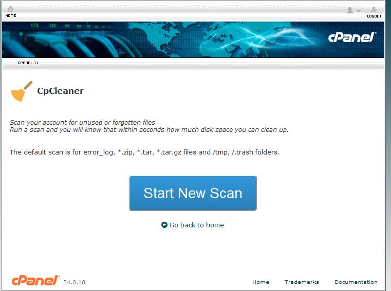 Step2: Start New Scan